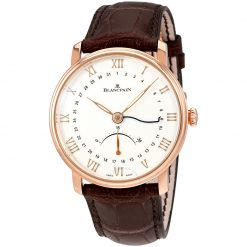 Blancpain Villeret Ultra Slim 18K Rose Gold Men's Watch Pre.owned_6653Q-3642-55B
