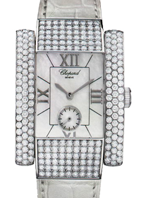 Chopard La Strada 18K White Gold Diamonds Ladies Watch, Pre.owned_416867