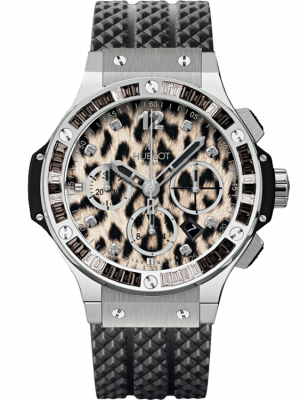 Hublot Big Bang Snow Leopard Automatic Chronograph Watch, preowned.341.SX.7717.NR.1977