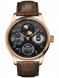 IWC Portuguese Perpetual Calendar Hemisphere Moonphase Men's Watch preowned.IW503202