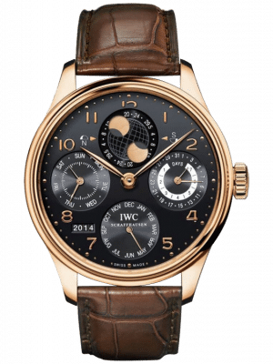 IWC Portuguese Perpetual Calendar Hemisphere Moonphase Men's Watch, preowned.IW503202