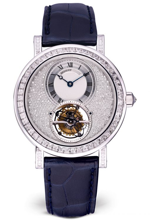 Brequet Classique complications 5359 18K White Gold Ladies Watch, preowned.5359BB/6B/9V6/DD0D