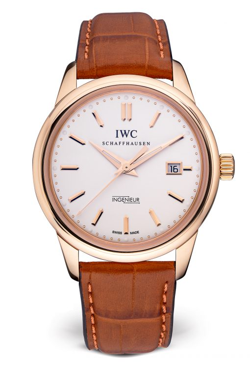 IWC Vintage Ingenieur Automatic 18K Rose Gold Men's Watch, preowned.IW323303