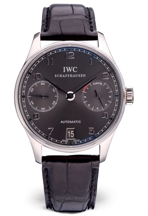 IWC Portuguese Automatic 18K White Gold Men's Watch, preowned.IW500106