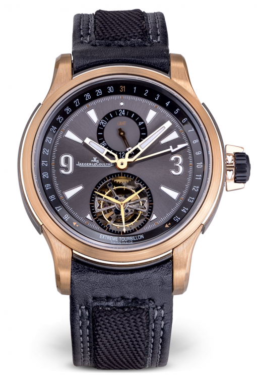 Jaeger LeCoultre Master Compressor Extreme Tourbillon Limited Edition 18K  Rose Gold Men's Watch, preowned.150.2.34