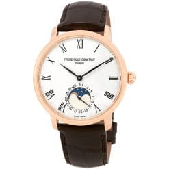 Frederique Constant Slimline Moonphase Automatic FC-705WR4S4