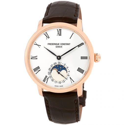 Frederique Constant Slimline Moonphase Automatic, FC-705WR4S4