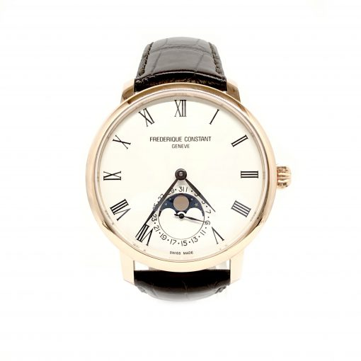 Frederique Constant Slimline Moonphase Automatic, FC-705WR4S4 2
