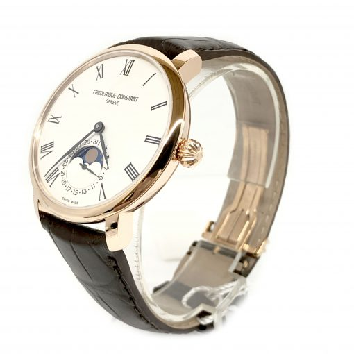 Frederique Constant Slimline Moonphase Automatic, FC-705WR4S4 3