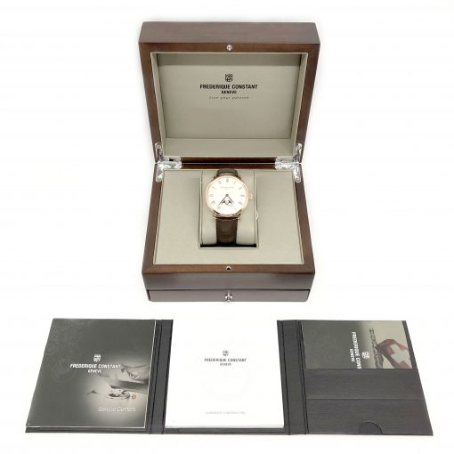 Frederique Constant Slimline Moonphase Automatic, FC-705WR4S4 5