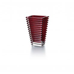 Baccarat Rectangular Eye Vase Red Small, 2802298 2802298