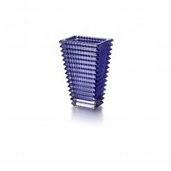 Baccarat Rectangular Eye Vase Blue Small, 2811104 2811104