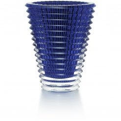 Baccarat Round Eye Vase Blue XL, 2811216 2811216