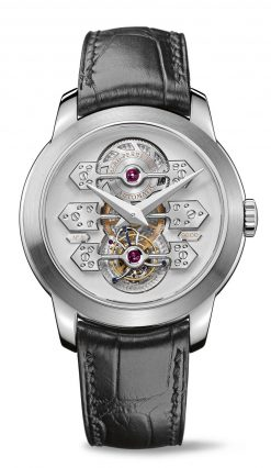 Girard Perregaux Tourbillon 18K White Gold Watch preowned.99193-53-002-BA6A