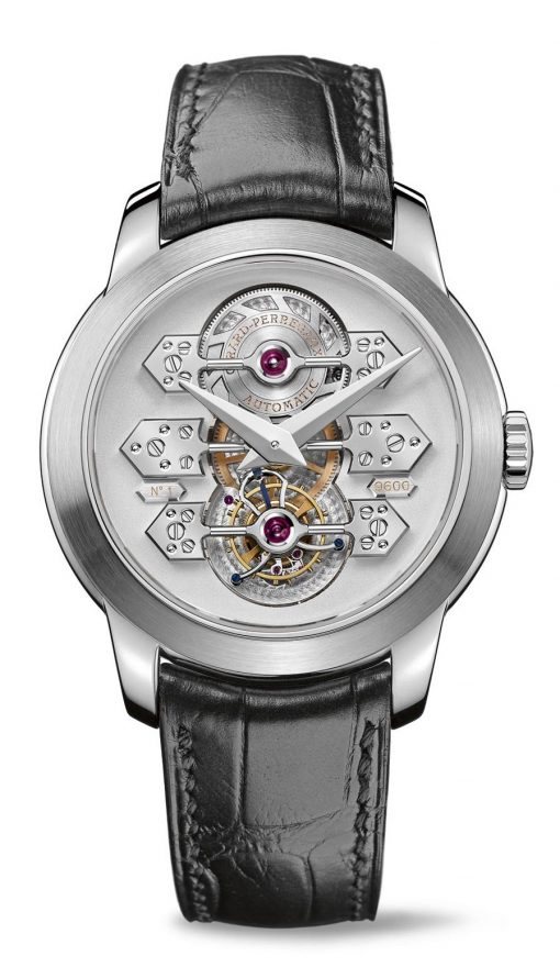 Girard Perregaux Tourbillon 18K White Gold Watch, preowned.99193-53-002-BA6A