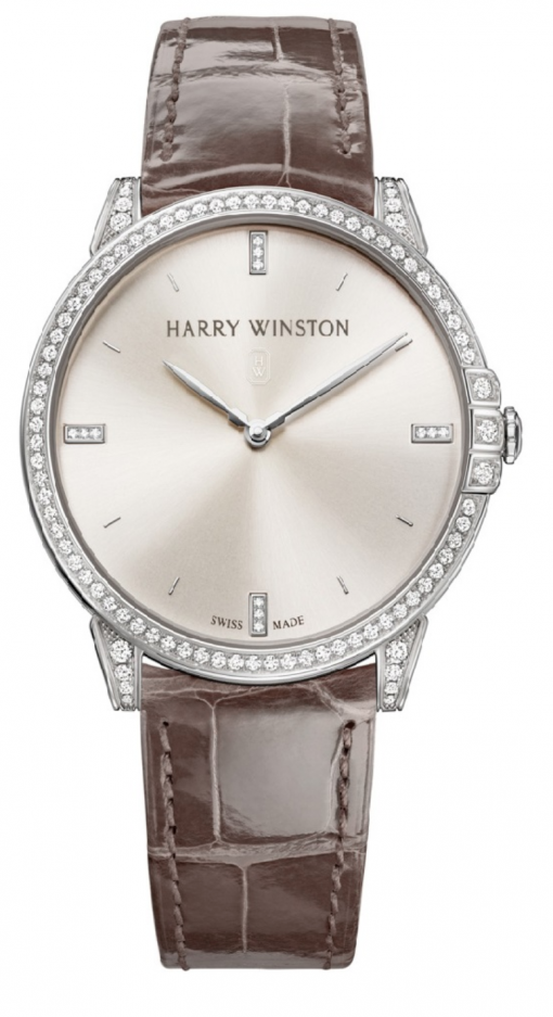 Harry Winston Midnight 18K White Gold & Diamonds Ladies Watch, Preowned.MIDQHM32WW002