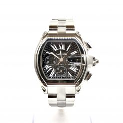Cartier Roadster Chrono Watch preowned.W62020X6