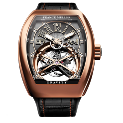 Franck Muller Gravity Tourbillon 18K Rose Gold Men's Watch preowned.V 45 T GR CS (NR)