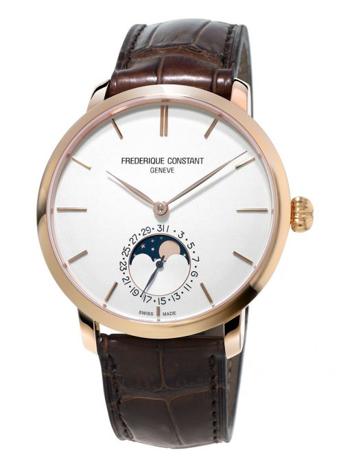 Frederique Constant Slimline Moonphase Automatic, FC-705V4S4
