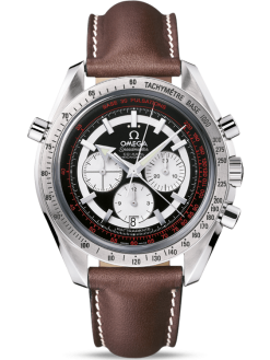 Omega Speedmaster Broad Arrow Rattrapante Stainless Steel Men's Watch preowned.3882.51.37