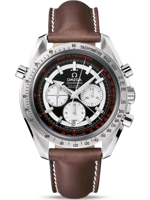 Omega Speedmaster Broad Arrow Rattrapante Stainless Steel Men's Watch, preowned.3882.51.37
