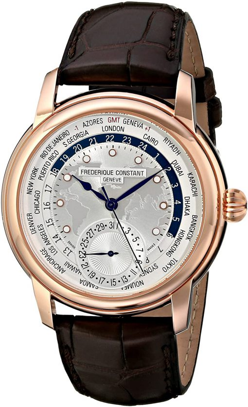Frederique Constant Worldtimer Automatic, FC-718WM4H4