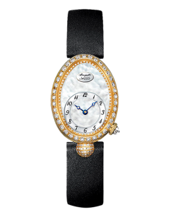Breguet Reine de Naples 18K Yellow Gold & Diamonds Ladies Watch Preowned-8928BA/58/844 DD0D