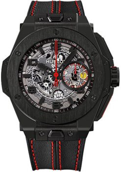 Hublot Big Bang 45 mm Ferrari All Black Ceramic Men's Watch preowned.401.CX.0123.VR