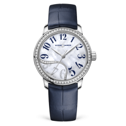Ulysse Nardin Classic Jade Stainless Steel & Diamonds Ladies Watch 8153-230B/60-03
