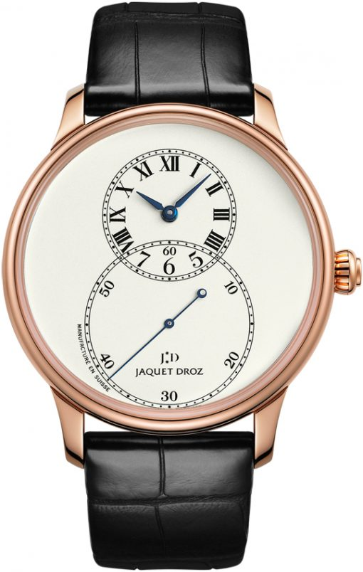 Jaquet Droz Grande Seconde Circled 18K Rose Gold Men's Watch, preowned.J003033204