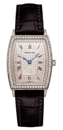 Breguet Heritage 18K White Gold & Diamonds Ladies Watch Preowned.8671BB/61/964-DD00