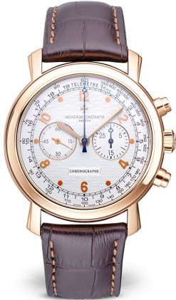 Vacheron Constantin Malte Manual Chronograph 18K Rose Gold Men's Watch Preowned.47120/000r-9099
