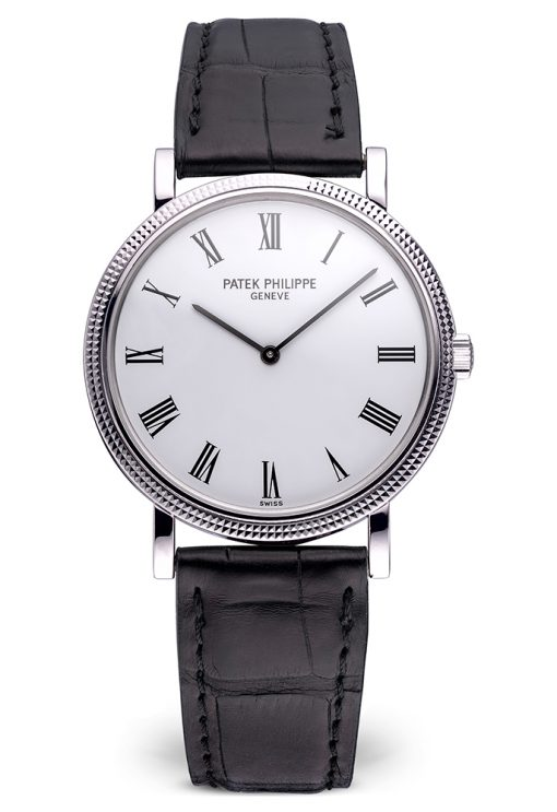 Patek Philippe Calatrava 18K White Gold Unisex Watch, Preowned.5120G-001