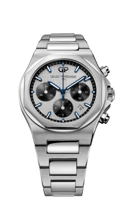 Girard Perregaux Laureato Chronograph 42mm Mens Watch 81020-11-131-11A