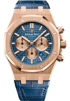 Audemars Piguet Royal Oak Chronograph 18K Pink Gold Watch 26331OR.OO.D315CR.01