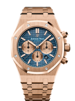 Audemars Piguet Royal Oak Chronograph 18K Pink Gold Watch 26331OR.OO.1220OR.01
