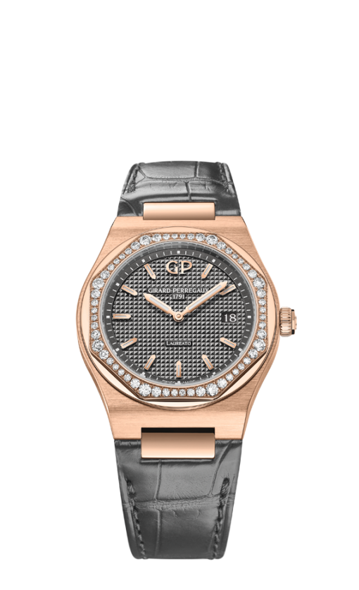 Girard Perregaux Laureato Classic 34 mm Mens Watch, 80189D52A232-52A-1