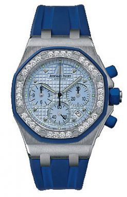 Audemars Piguet Royal Oak Offshore Chronograph 18K White Gold Watch preowned.25986CK.ZZ.D020CA.02