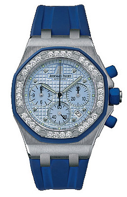 Audemars Piguet Royal Oak Offshore Chronograph 18K White Gold Watch, preowned.25986CK.ZZ.D020CA.02