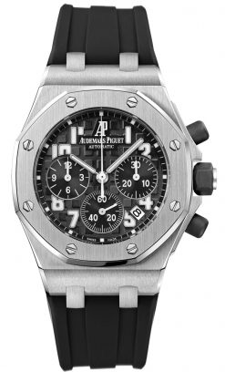 Audemars Piguet Royal Oak Offshore Chronograph Stainless Steel 37mm Ladies Watch Preowned_26283ST.OO.D002CA.01