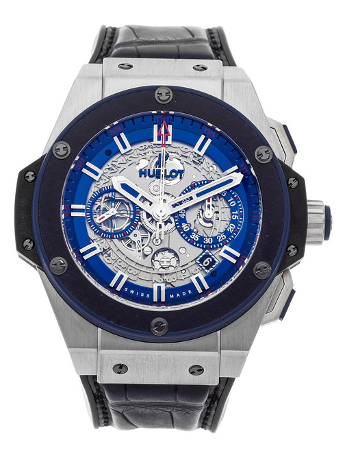 Hublot King Power Special One Titanium & Ceramic Men's Watch, preowned.701.NQ.0137.GR.SPO14