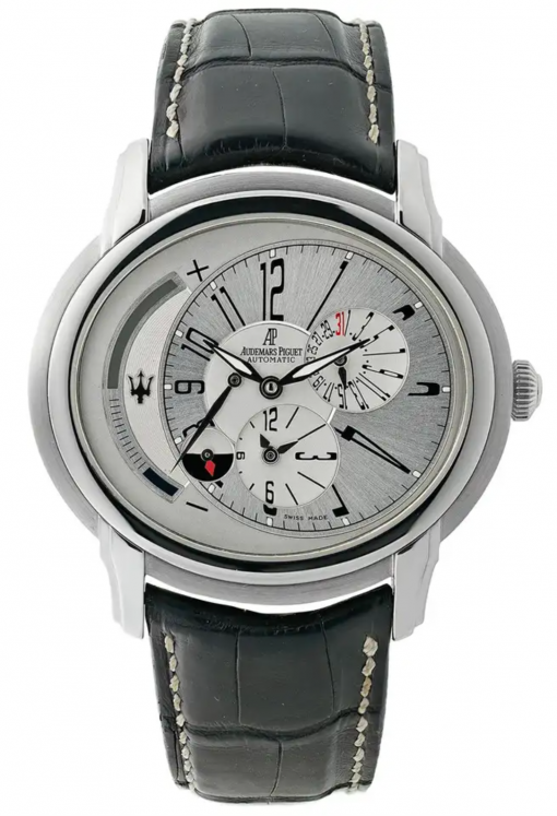 Audemars Piguet Millenary Maserati Stainless Steel Men's Watch, preowned.26150st.oo.d084cu.01-1