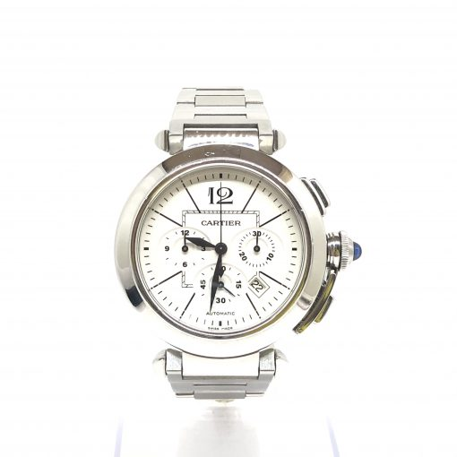 Cartier Pasha Chronograph 42mm Men's Watch, Preowned_W31085M7