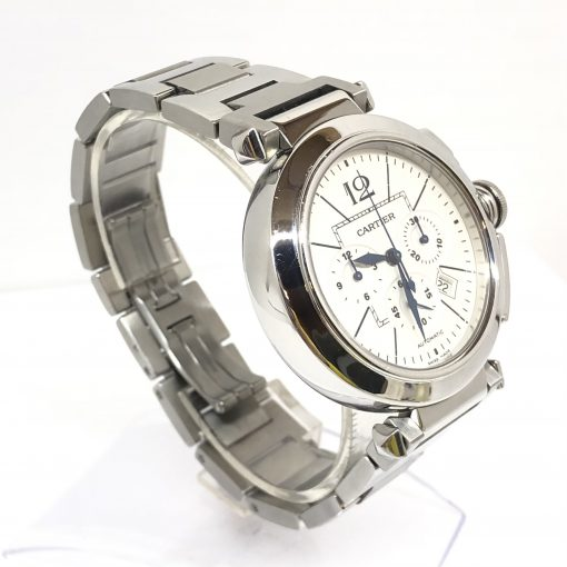 Cartier Pasha Chronograph 42mm Men's Watch, Preowned_W31085M7 2