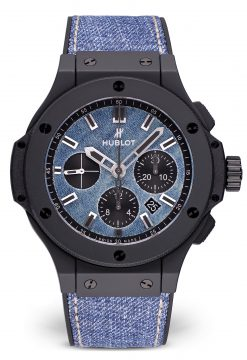 Hublot Big Bang 44 mm Ceramic & Denim Unisex Watch preowned.301.CI.2770.NR.JEANS