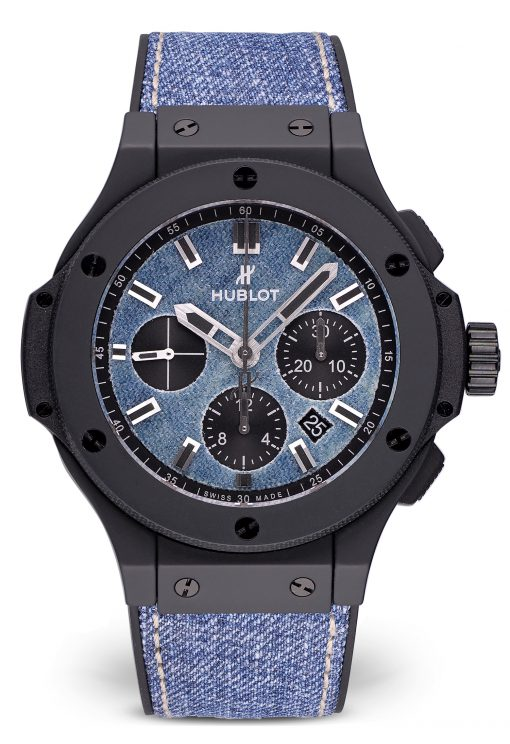 Hublot Big Bang 44 mm Ceramic & Denim Unisex Watch, preowned.301.CI.2770.NR.JEANS
