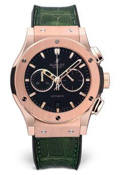 Hublot Classic Fusion Chronograph 42 mm 18K Rose Gold Men's Preowned.541.OX.1180.LR