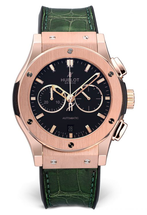 Hublot Classic Fusion Chronograph 42 mm 18K Rose Gold Men's, Preowned.541.OX.1180.LR