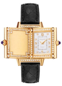 Jaeger LeCoultre Reverso Joaillerie 18K Yellow Gold Ladies Watch Preowned-Q2671420