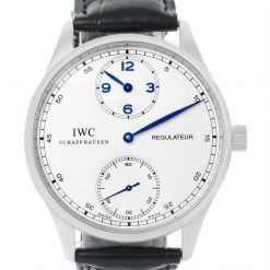 IWC Portuguese Regulateur Stainless Steel Men's Watch (Copy) preowned.IW544401
